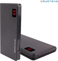 Systene Portable Dual USB Port (PB-13KSB) Power Bank 13000 MAh (Black)