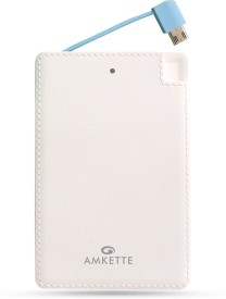 Amkette-Fuel-Card-2500-Mah-Powerbank-(With-Iphone-Connectors)