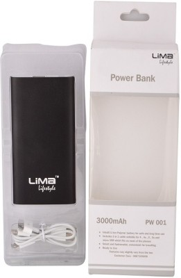 Lima-Pw-001-3000mAh-Power-Bank