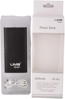 Lima Pw-001 3000mAh Power Bank