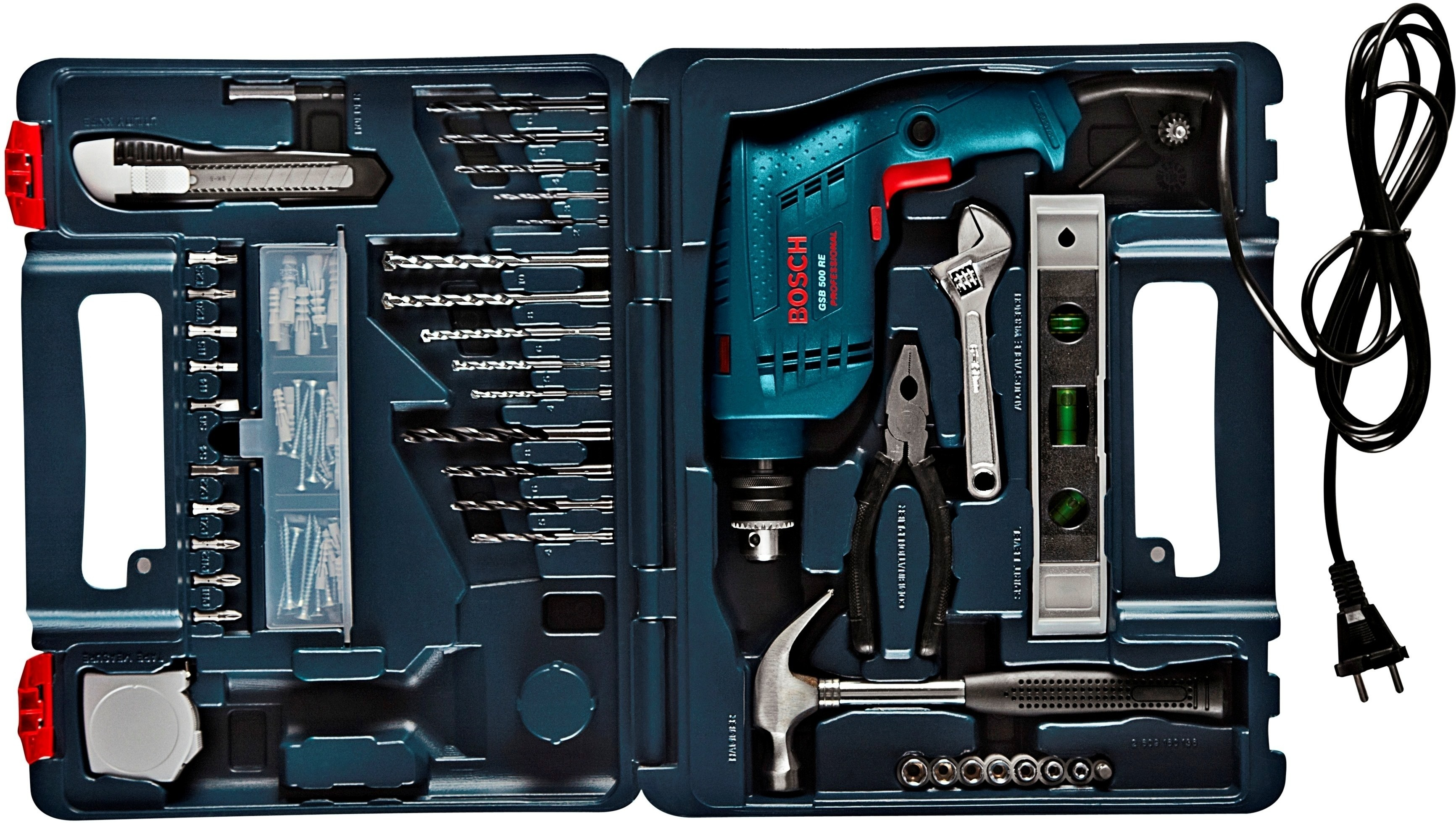 bosch gsb 500 re kit power hand tool kit price in india buy bosch gsb 500 re kit power. Black Bedroom Furniture Sets. Home Design Ideas