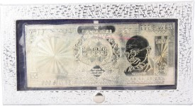 Siri Creations 999 Pure Currancy Note Polish Envelope Silver Jewellery