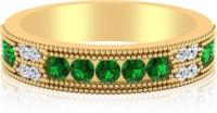 IskiUski The Erksina Diamond Ring 14kt Swarovski Crystal White Gold Ring