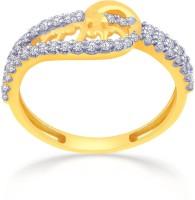 Malabar Gold And Diamonds MHAAAAABJMLZ 22kt Cubic Zirconia Yellow Gold Ring