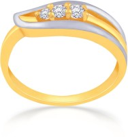 Malabar Gold And Diamonds MHAAAAABJMKS 22kt Cubic Zirconia Yellow Gold Ring