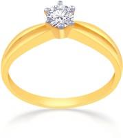 Malabar Gold And Diamonds MHAAAAABJMNB 22kt Cubic Zirconia Yellow Gold Ring