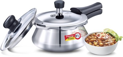 Prestige SS_Baby_Handi 1.5 L Pressure Cooker (Induction Bottom, Stainless Steel)