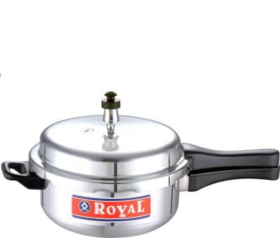 Royal 3.5 L Pressure Pan (Induction Bottom, Aluminium)