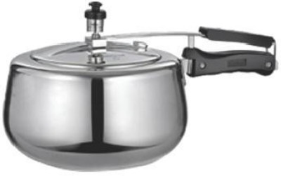 Quba Aluminium 3 L Pressure Cooker (Induction Bottom, Aluminium)