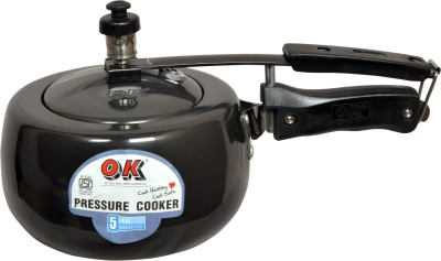 OK hard anodized 3.5 L Pressure Cooker (Aluminium)
