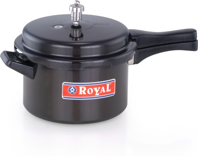 ROYAL 3 L Pressure Cooker (Induction Bottom, Hard Anodized)