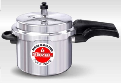 Saral-FS00000313-Aluminium-5-L-Pressure-Cooker-(Induction-Bottom,Outer-Lid)