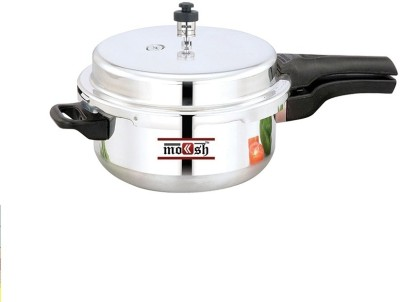 Moksh Junior Deep Pan With Lid 4.5 L Pressure Cooker (Aluminium)