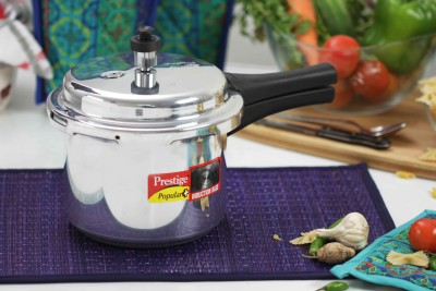Prestige Popular Plus 3 L Pressure Cooker (Induction Bottom, Aluminium)