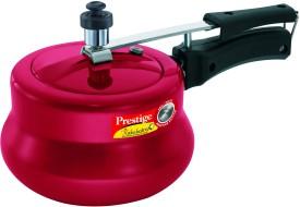 Nakshatra Plus Red Handi Aluminium 3 L Pressure Cooker (Inner Lid)