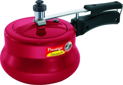 Prestige Nakshatra Plus Red Handi 5 L Pressure Cooker (Induction Bottom, Aluminium)