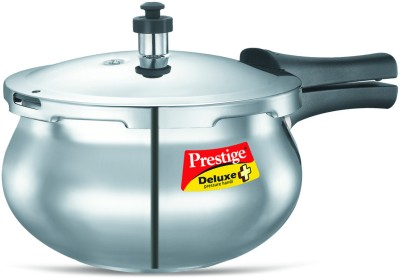Deluxe-Plus-Baby-Handi-Aluminium-2-L-Pressure-Cooker-(Induction-Bottom,-Outer-Lid)