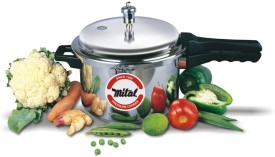 Mital Stainless Steel 2 L Pressure Cooker (Induction Bottom,Outer Lid)