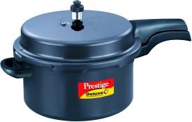 Deluxe Plus Aluminium 7.5 L Pressure Cooker (Outer Lid)