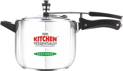 Kitchen Essentials Stainless Steel Induction Base Inner Lid 5 L Pressure Cooker (Induction Bottom, Stainless Steel)