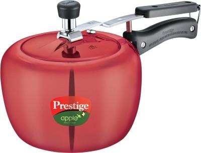 Prestige Apple Plus Aluminium 3 L Pressure Cooker (Induction Bottom, Aluminium)