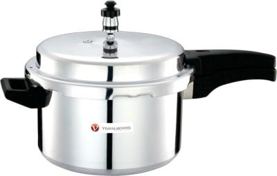 Vijayalakshmi Aluminium 10 L Pressure Cooker (Aluminium)
