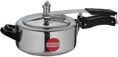 Crystal 5 L Pressure Cooker (Aluminium)