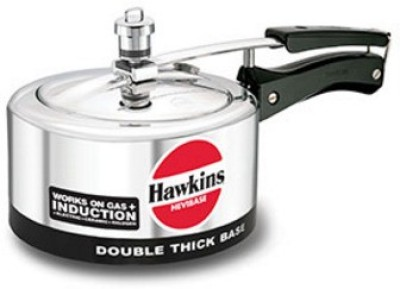 Hawkins Hevibase 3 L Pressure Cooker (Induction Bottom, Aluminium)