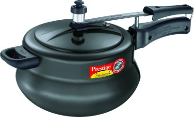 Nakshatra Plus HA Handi Aluminium 5 L Pressure Cooker (Induction Bottom, Inner Lid)