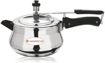 Wonderchef Ultima 3.5 L Pressure Cooker (Induction Bottom, Aluminium)