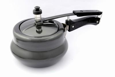 Metallino Hard Anodised Inner Lid 2 L Pressure Cooker (Aluminium)