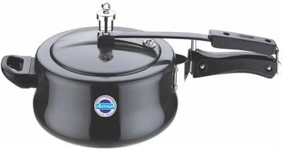 Amul COOK WARE Supremo Handi 5 L Pressure Cooker (Hard Anodized)