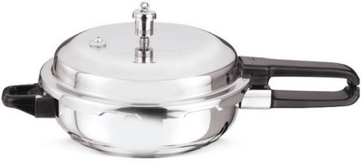 Vinod 2 L Pressure Pan (Induction Bottom, Stainless Steel)