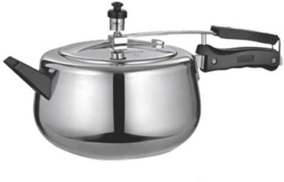 Quba Aluminium 3 L Pressure Cooker (Induction Bottom, Aluminium)