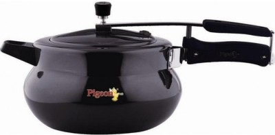 Pigeon Hard Anodized LB Cooker - Xella 5.5 L Pressure Cooker (Induction Bottom, Aluminium)