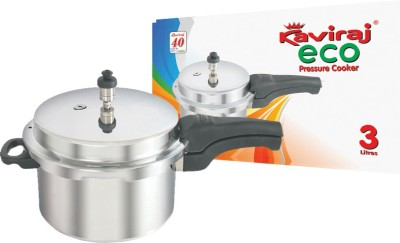 Kaviraj Eco 3 L Pressure Cooker (Induction Bottom, Aluminium)