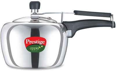 Applealu Aluminium 2 L Pressure Cooker (Induction Bottom,Inner Lid)