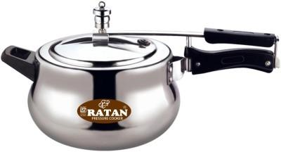 Ratan 5 L Pressure Cooker (Induction Bottom, Aluminium)