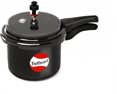 Tuffware Hard Anodized Outer Lid 2.0 L Pressure Cooker (Hard Anodized)