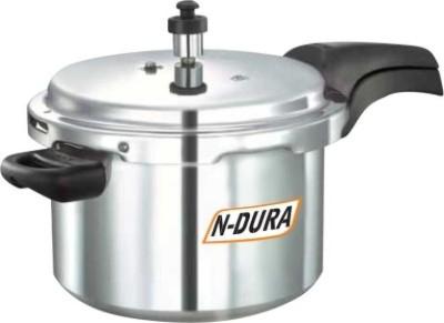 NDURA DELUXE 10 LTRS 10 L Pressure Cooker (Aluminium)