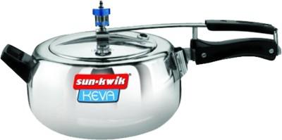 Keva-Deluxe-Aluminium-3.5-L-Pressure-Cooker-(Inner-Lid)
