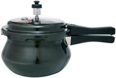 Wonderchef Black Handi Pressure Cooker (5.5 Ltr)