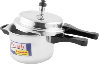 Preeth 5 L Pressure Cooker (Induction Bottom, Aluminium)