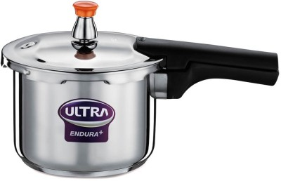 Endura Stainless Steel 3 L Pressure Cooker (Induction Bottom)