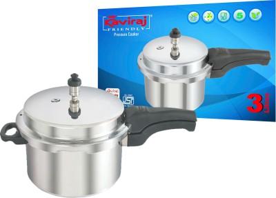 Kaviraj 5 L Pressure Cooker (Aluminium)