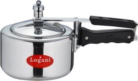Logani Aluminium 2 L Pressure Cooker (Inner Lid)