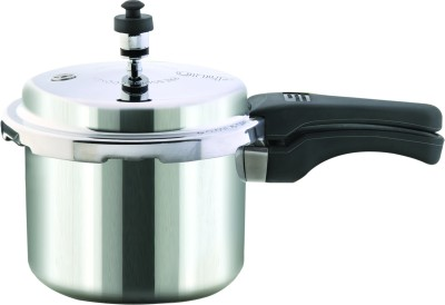 Onyx Outer Lid 3 L Pressure Cooker (Induction Bottom, Aluminium)