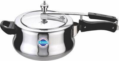 Amul COOK WARE Deluxe Handi 5 L Pressure Cooker (Aluminium)