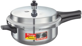 Popular Plus Pressure Cooker Junior Pan 3.4 L Pressure Cooker (Induction Bottom,Outer Lid)