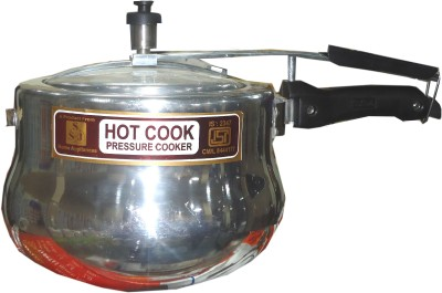 Hot Cook 5 L Pressure Cooker (Aluminium)